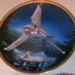 Star Wars Imperial Shuttle Hamilton collector plate